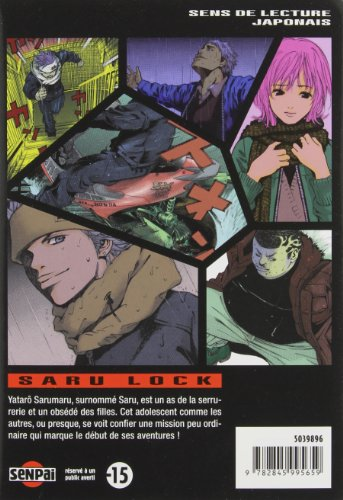 Saru Lock, Tome 1 (French Edition)
