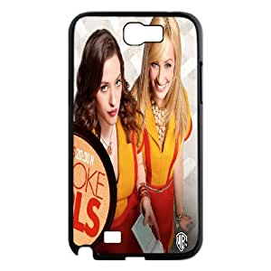 Printed Phone Case 2 Broke Girls For Samsung Galaxy Note 2 N7100 NC1Q02407