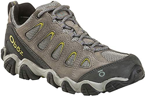 Oboz Sawtooth II Low Hiking Shoe - Men's Pewter 12 Wide