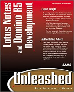Book Lotus Notes and Domino 5 Development Unleashed