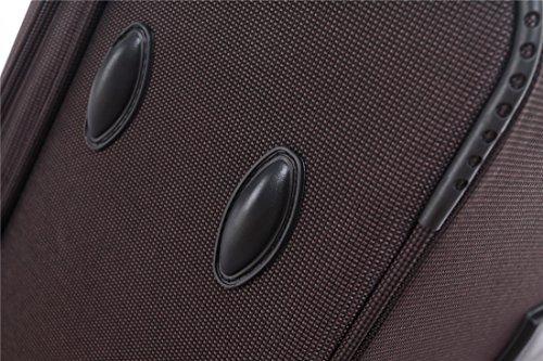 51RVE81ItmL - 8005 3 piezas, 4 ruedas de maletas duras tela maleta conjunto de equipaje maleta de viaje en 5 coloures