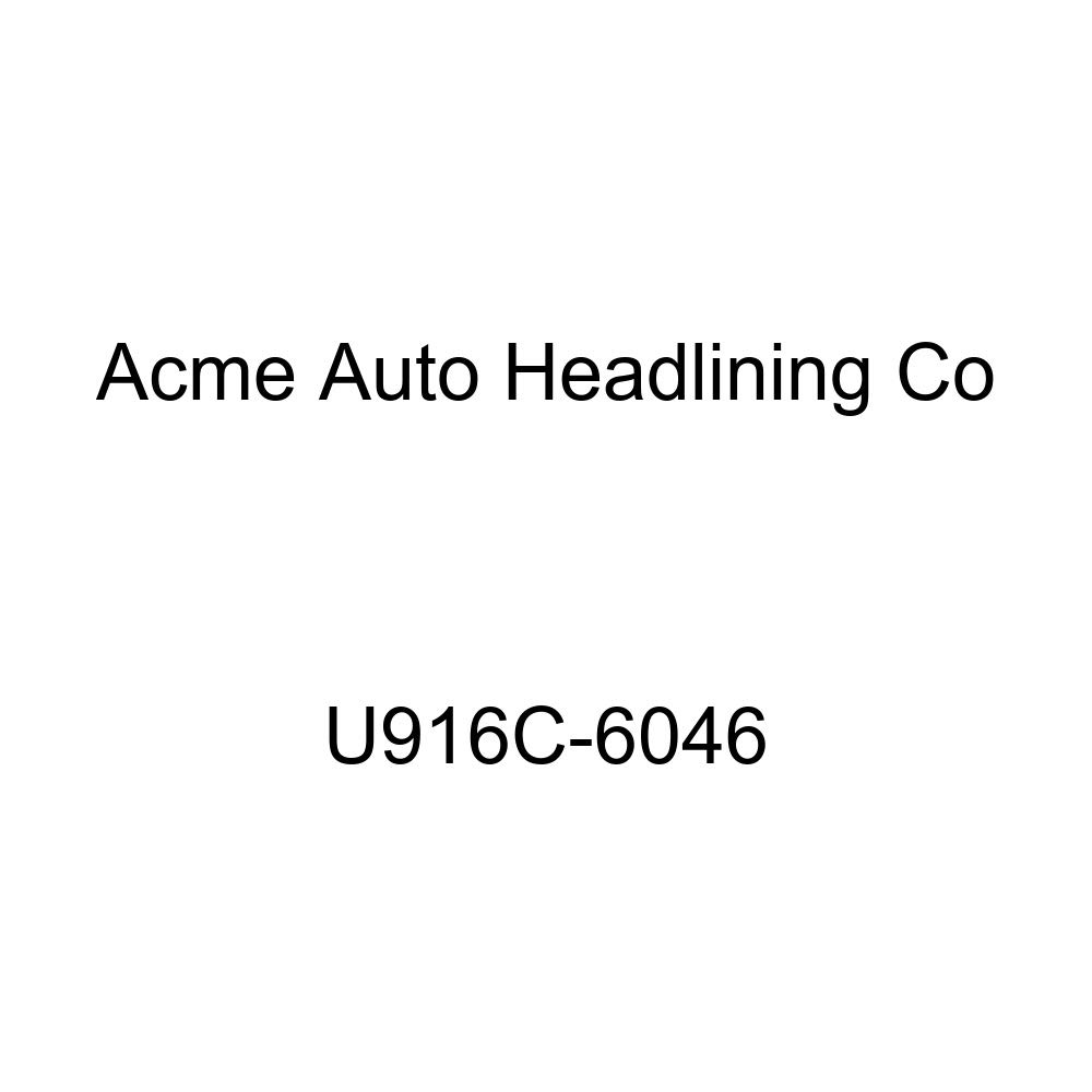 Acme U916C-6046 Front and Rear Light Oxford Gray Vinyl Bench Seat Upholstery