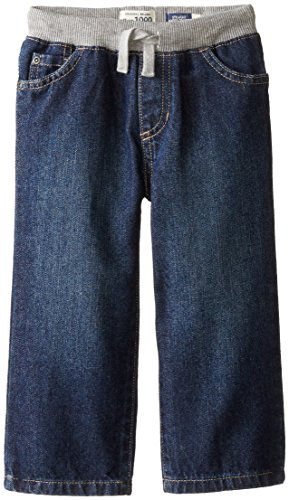 The Children's Place Little Boys and Toddler Pull-On Jean, Liberty Blue, 3T