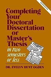 The No-Fail Secret to Writing a Dissertation   Vitae