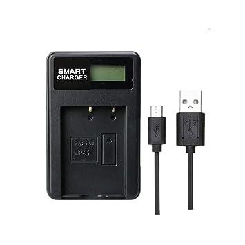 NP-95 NP 95 LCD Cargador de batería de un Solo Cargador para ...