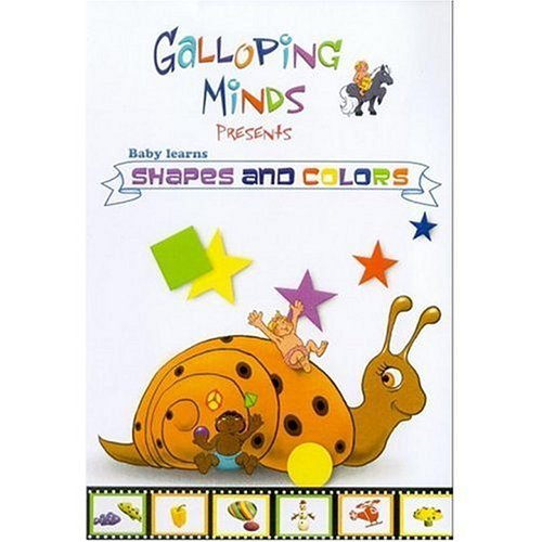 Buy galloping minds baby learns shapes and colors dvd