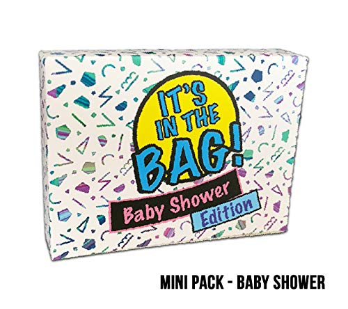 It's in The Bag! - Baby Shower - Newest Game for Parties! Laugh Out Loud in This Game of Teamwork. Describe, Guess & Charades! Act Fast in This Popular Quick-witted Card Game! 4-20 Players!]()
