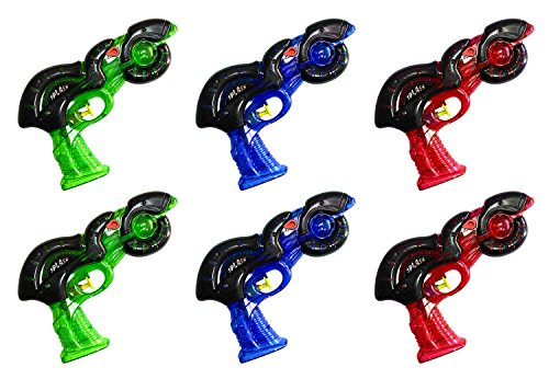 6-pack-neon-squirt-guns-water-shooters-medium-size-summer-pool-toys-party-favors-or-outdoors-games