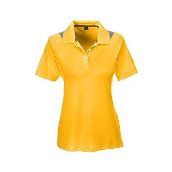 Ash City Apparel Team 365 - Polo para Mujer, S, Dorado, (Sport ...