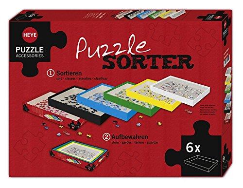 Heye - Accesorio para puzzle (37x27 cm) (HEYE-80590) HY80590 Ratgeber / Hobby Haus / Spielen Raten