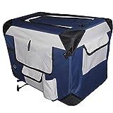 Cheap Petzip Pet Soft Crate, Navy Blue
