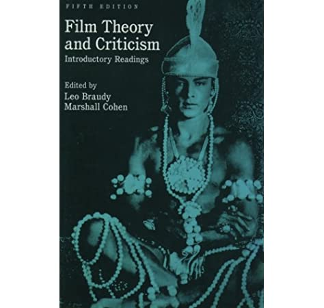 Amazon Com Film Theory And Criticism Introductory Readings 9780195158175 Braudy Leo Cohen Marshall Books