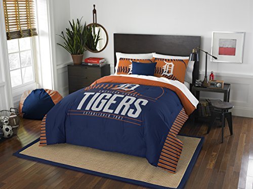 - The Northwest Company Officially Licensed MLB Detroit Tigers Grandslam Full/Queen Comforter and 2 Sham Set