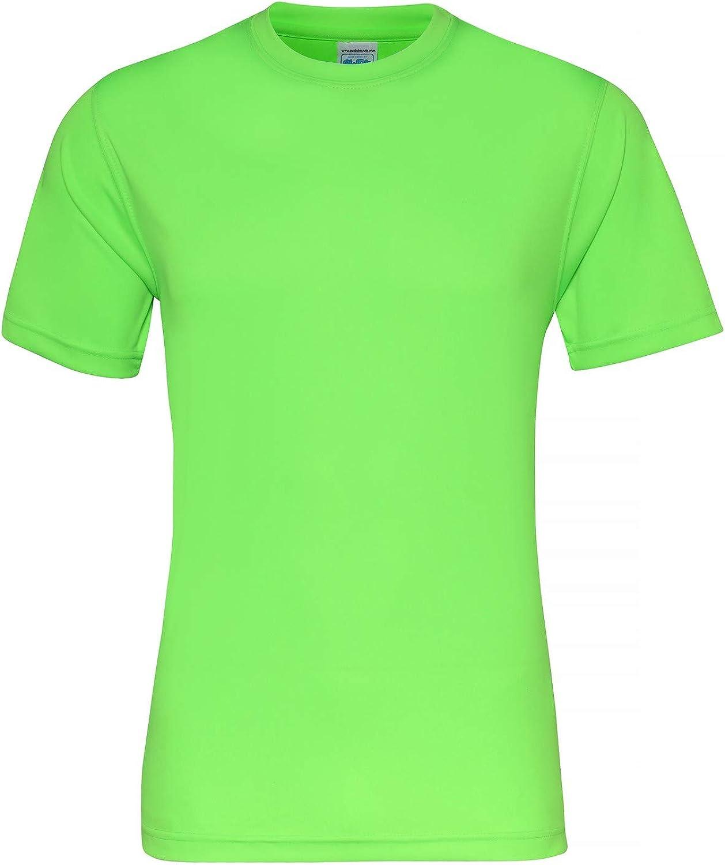 AWDis Just Cool Mens Womens Sports Gym Cool Smooth Polo Shirt