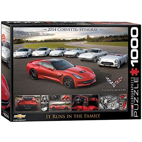 rvette Singray: It Runs in the Family Jigsaw Puzzle (1000-Piece) ()
