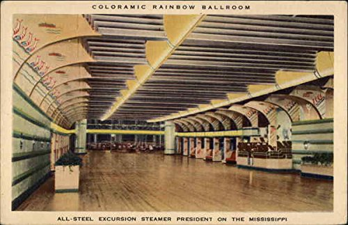 all-steel-excursion-steamer-president-on-the-mississippi-interiors-original-vintage-postcard