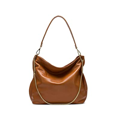 Image Unavailable. Image not available for. Color  Naiermai Genuine Leather  Handbags for Women Large Designer Ladies Shoulder Bag Bucket Style ffb5485324c05