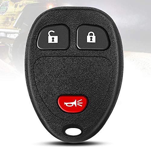 TURBOSII Keyless Entry Remote Control Car Key Fob Replacement for Chevrolet Silverado Suburban Tahoe Equinox/GMC Sierra Yukon Acadia/Buick Enclave/Cadillac Pontiac Saturn(OUC60270,OUC60221,15913420)