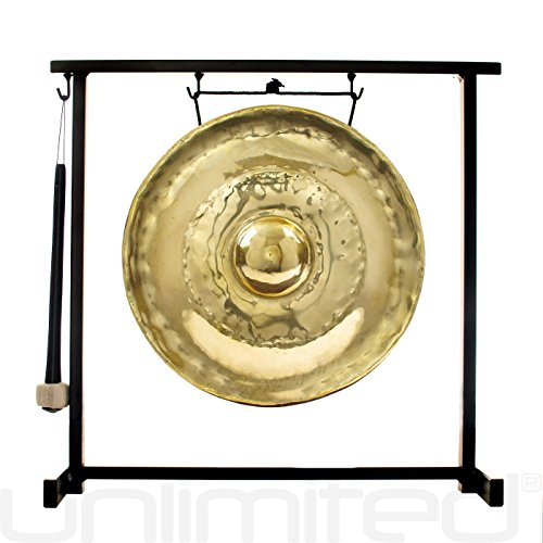 - Thai Golden Nipple Gongs on Stands