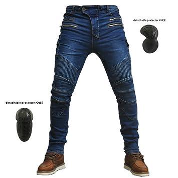 BQT Pantalones de Moto de equitación, Pantalones de ...