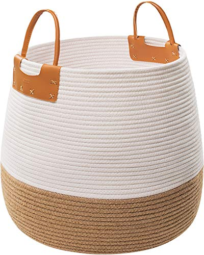 Large Rope Storage Basket, 17x17