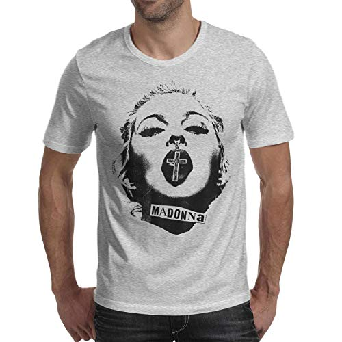 Madonna Crucifix in Mouth T-shirt for Men - S to XXL