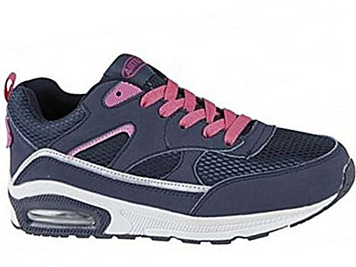 Absorbing Trainers Sports Running Air Shock Navy 8 shoes Fitness Ladies Tech Size Gym Legacy 4 81Xaztxqn