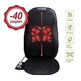 Mynt Shiatsu Seat Massager with Heat - featuring Kneading and Shiatsu Massage Therapy