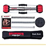Bullworker 28' Bow Classic -Full Body Workout- Portable Home Gym Isometric Exercise Equipment for Fast Strength Training Gains. Cross Training Fitness; Chest, Back, Arms, and Abs Exercise Machine