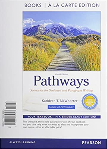 Amazon.com: Pathways: Scenarios for Sentence and Paragraph Writing ...