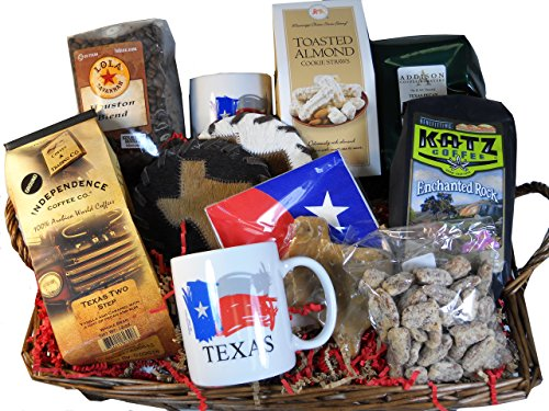 Texans Favorite Coffee Gift Basket by Texas Treats