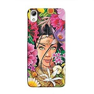 Cover It Up Hidden Princess Hard Case for HTC Desire 826 - Multi Color