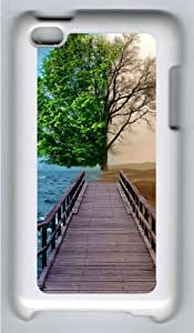 Apple iPod 4 Case and Cover - Half Life Tree Custom Design Polycarbonate Hard Case Cover for iPod 4/ iPod 4th Generation - White