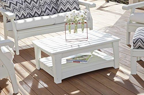 (Uwharrie Chair Co G030-31-Twilight Blue-Dist-Pine Gallatin Coffee Table, Twilight Blue-Distressed)