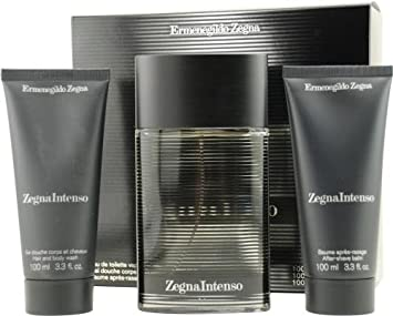 Zegna Intenso by Ermenegildo Zegna for Men. Set-Eau De Toilette Spray 3.3- 811b8a5e4e1