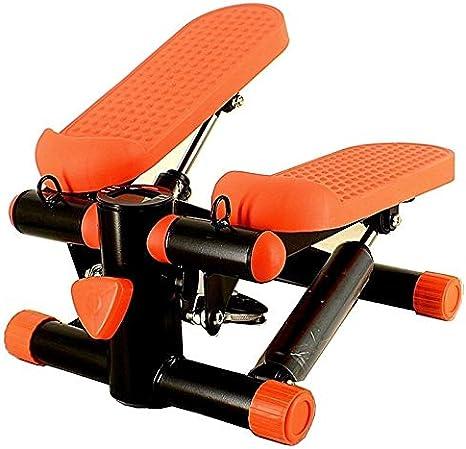 PARTAS Primera generación Mini Fitness Escalera Paso a Paso for la Mujer y el Hombre, de Silencio Paso a Paso Fitness Ejercicio Cardio Trainer Color múltiple (Color : Orange): Amazon.es: Deportes y