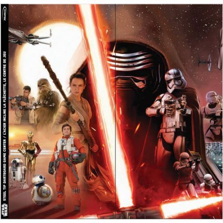 Star Wars Steel Tip Dartboard - The Force Awakens Collage