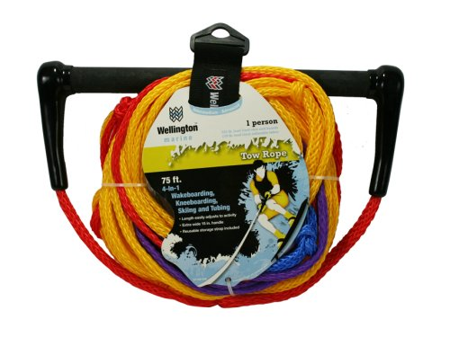 Wellington V7108KM Braided Polypropylene 4-in-1 Tow Rope