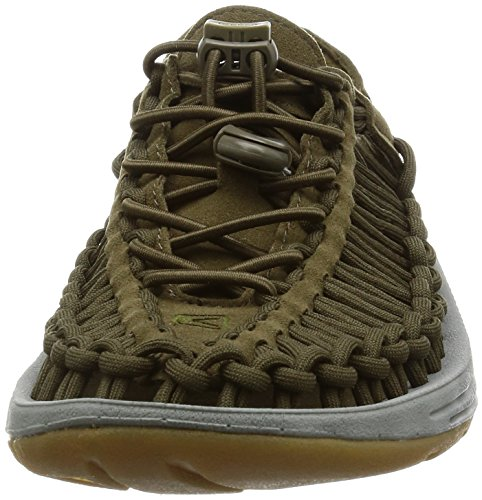 Womens Grey Dark 8MM KEEN Olive KEEN Sandal Neutral Uneek Grey Uneek Sandal Womens Neutral 8MM Olive Dark qxawqABz1