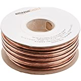 AmazonBasics 14-Gauge Audio Stereo Speaker Wire Cable - 50 Feet