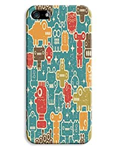 Funky Faces Case for your iPhone 5/5S