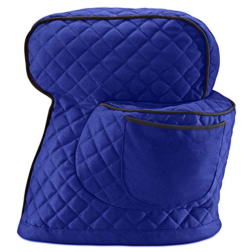 6-8 Quart Dust Cover Fitted Stand Mixer Cover with Pockets, Kitchen & Dining Small Appliance Organizer Dust Cover for Kitchen Aid Mixers and Extra Accessories TFC539