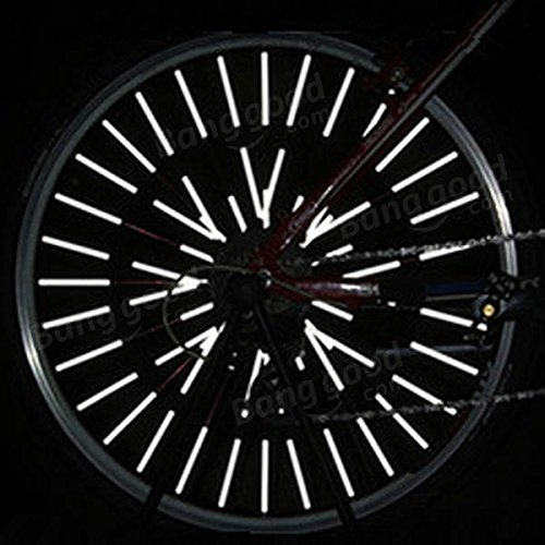 Philmat Pince Tube Rã©flã©chissant Montage Pcs Parlaient Rã©flecteur Bicyclette 12 Roue De Hw4F7HfrB