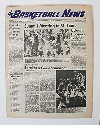 1973 April Basktball News Ucla Hoosiers Summit Meeting Kentucky Wesleyan