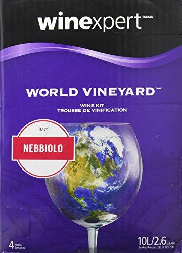 winexpert B00GHWVTD2 FBA_Does Not Apply World Vineyard Nebbiolo (Formerly Italian Barolo Style) (Barolo Nebbiolo Wine Red)