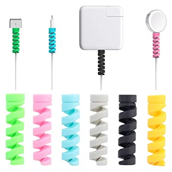 Cable Protector, 16 Piezas Android Iphone Cables Protector ...