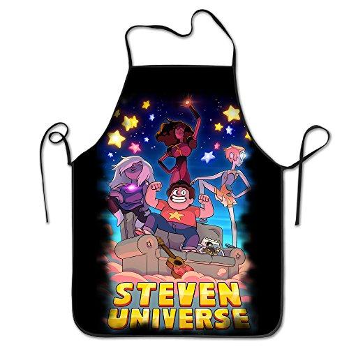 Steven Universe Theme Cover Bib Kitchen Apron ()