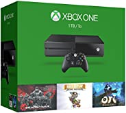 Xbox One 1TB Console - 3 Games Holiday Bundle (Gears of War: Ultimate Edition + Rare Replay + Ori and the Blin