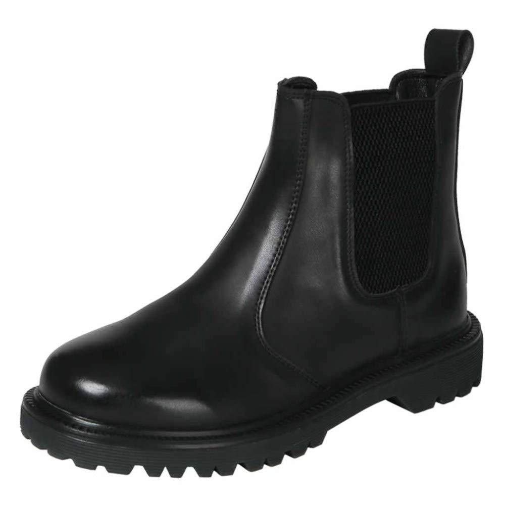 Chelsea Martin Stiefel Damen Leder Stiefeletten Damen Komfortable Anti-Slip Martin Stiefel Sport Outdoor Schuhe  | Ich kann es nicht ablegen