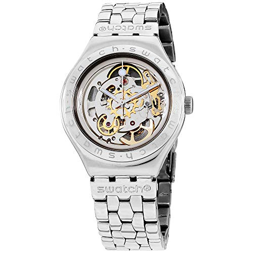 Swatch Men's YAS100G Automatic See Through Dial Crystal Watch